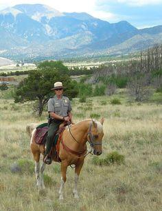 Park ranger, Colorado - hero inspiration