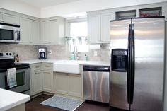 Remodeled Kitchen Using Original Cabinets With DIY Custom Doors :: Hometalk