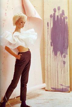 Jean Shrimpton by Cecil Beaton, 1964.