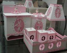 Kit higiene para bebê - Bailarina