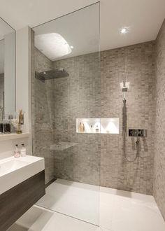 Doorless Walk In Shower Designs. shower handle on separate wall ...