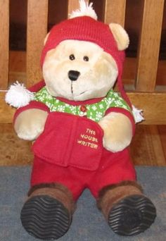 9-5-034-97th-Edition-Bearista-STARBUCKS-The-MOUSE-Writer-HOLIDAY-Bear-19