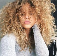 Tumblr, blond, agréable, cheveux, cheveux bouclés, mode, fille, cheveux ondulés
