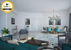 Homelab leefruimte renovatie appartement te Sint-Truiden