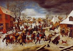 Pieter Brueghel the Younger ~ Massacre of the Innocents