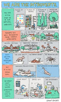 Being an introvert is sometimes difficult when like you need to get up and get something but you're too scared to cross the room because you don't want people to look at you Beste Comics, 4 Panel Life, All Meme, In Natura, Dr. Seuss, Bd Comics, I Can Relate, Look At You, In Kindergarten