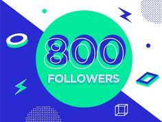 800 Followers