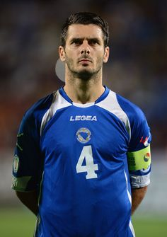 Emir Spahic, Captain of Bosnia-Herzegovina