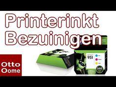 Hoe kan je minder printer inkt verbruiken? - Youtube