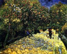 Serena Maylon: Van Gogh Tilt-Shifted