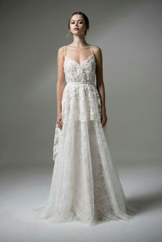 Spanish-Inspired Wedding Dresses Perfect for a Summer Fiesta ...