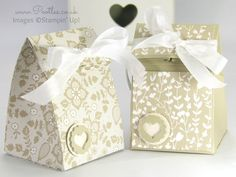 Stampin' Up! Fold Over Smooth Domed Bag Tutorial
