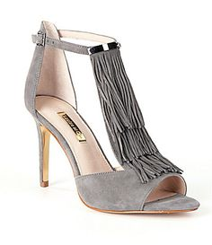 Louise Et Cie Kayla Fringe Dress Sandals #Dillards
