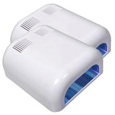 Royal Nails Aushärtungs-Lampen: UV Lampe MORITZ mit 4 Röhren 36 Watt, 2er-Pack