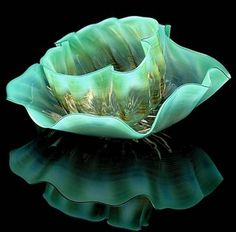 "DALE CHİHULY, Splender of glass ""Seaforms"""
