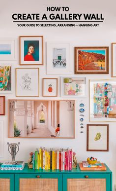 How To Make A Gallery Wall (A Guide To Selecting, Arranging + Hanging Art!) | studiodiy.com Diy Interior, Interior Decorating, Decorating Ideas, Interior Design, Decor Crafts, Diy Home Decor, Hanging Art, Eclectic Decor, Home Decor Inspiration