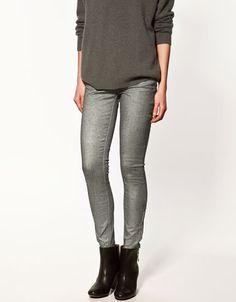I kinda like these silver jeans