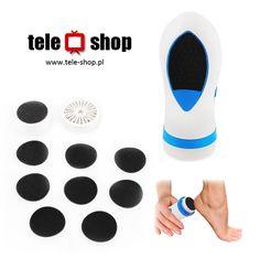 http://tele-shop.pl/ ELEKTRYCZNA TARKA DO STÓP. Tarka pozwala na szybkie i skuteczne ścieranie zgrubień i martwego naskórka na stopach.