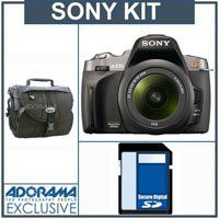Sony (alpha) A330, 10.2 MP DSLR Camera/ Lens Kit, with 18-55mm SAM Lens, 8GB SD Memory Card, Lowepro Camera Case, | Your #1 Source for Camera, Photo & Video