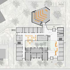 Grundriss Town Hall, Floor Plans, Floor Layout, Projects, Floor Plan Drawing, House Floor Plans