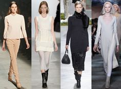 Tonal Dressing from Top 10 Trends at New York Fashion Week Fall 2014  Keep it simple for fall with muted dressing from head to toe. Hugo Boss, Narcisco Rodriguez and Marc Jacobs were just a few of the savvy designers who showed flawless executions of this elegant look.NEXT GALLERY: NYFW Fall 2014 beauty trends
