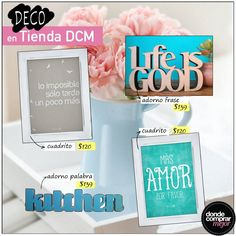 ¡Renová tu casa con Tienda DCM! Buscá en la sección #deco de www.tiendadcm.com tus adornos preferidos.