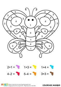 Home Decorating Style 2020 for Coloriage Magique Papillon Maternelle, you can see Coloriage Magique Papillon Maternelle and more pictures for Home Interior Designing 2020 at Coloriage Kids. Cvc Worksheets, Baby Chart, Fruit Coloring Pages, Math Pages, Spring Crafts For Kids, Teaching French, Math For Kids, Creative Teaching, Kindergarten Math