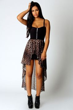 Sophia Leopard Skirt Mixi Dress (i know this look is pretty over done but it gets the job done.)