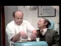 Dentist Sketch - The Carol Burnett Show-this has got to be one of the most hilarious skits ever...Tim Conway and Harvey Korman at their goofiest best!!!!