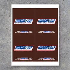 Snickers Candy Bar Wrappers for Sports Locker Treats – Printable Snickers Wrapper personalized with your opponent's name & your team name! Happy Boss's Day, Happy Mothers Day, Happy Valentines Day, Snickers Chocolate Bar, Snickers Candy Bar, Football Treats, Football Treat Bags, Football Gift, Flag Football