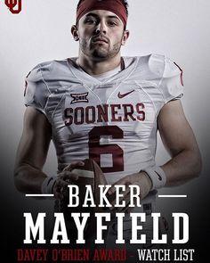 "Oklahoma Football on Instagram  ""We ll take this guy over anybody.   baker mayfield on  daveyobrien Watch List.  OUDNA"" 0b2a126b4"