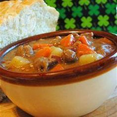 Traditional Irish Stew - let's try this recipe and see if I can make it anything like gran used to