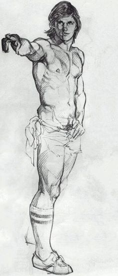Drawing by Harry Bush.