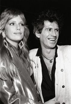 Area: 1983 – 1987 - Patti Hansen and Keith Black Limousine, Patti Hansen, Stone World, Cinema, Star Wars, Keith Richards, Mick Jagger, Post Punk, Models