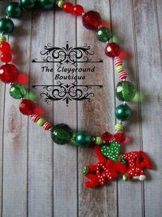 Polymer Clay Christmas Love Santa Bubblegum by TheClaygroundCorner, $18.00