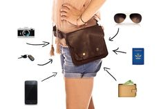 Love this! It's like a fannypack but cute :) A bag like Fiona's (Gabrielle Anwar) on Burn Notice :) This would be perfect for the busy mom hands like at the zoo, Disneyland, or anywhere! ;)