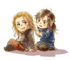 Little Fili and Kili<- If you don't find this cute then you suck.