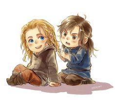 Little Fili and Kili