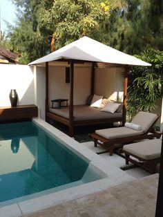 Private pool area at Villa #9, Sala Resort, Koh Samui