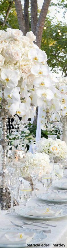 Gorgeous Alfresco Reception Decor