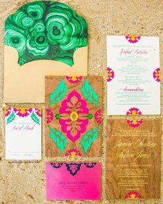 @cecinewyork always inspiring us! We just love all of their art work in wedding invitations! Go follow @cecinewyork for more stunning wedding invitations! by weddingcard