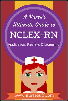 This guide will provide you with every basic information you need regarding NCLEX-RN application, review, and licensing. #NCLEX #Nursing #Review