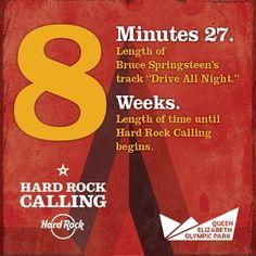 8 weeks! #HardRockCalling 2013! #hrcalling #hardrock
