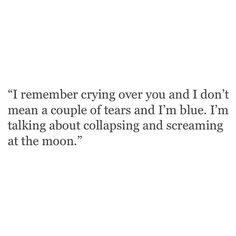 Yep. Except not at the moon. At myself. And circumstance. I don't believe there was a moon that night.