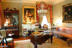Antebellum Greek Revival Mansion Stock Photos and Pictures | Getty ...