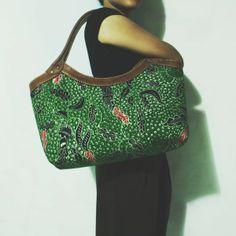 Ratih Green Madura Batik Hobo Bag
