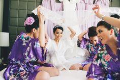 Photography: Ben Yew Photography + Film - http://www.stylemepretty.com/portfolio/ben-yew-photography Ceremony Venue: St Mary's Leederville - http://www.stylemepretty.com/portfolio/st-marys-leederville Wedding Dresses: Aelkemi - http://www.stylemepretty.com/portfolio/aelkemi-by-alvin-fernandez   Read More on SMP: http://www.stylemepretty.com/australia-weddings/2014/04/11/elegant-purple-infused-perth-wedding/
