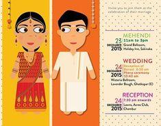 The Most Unique Indian Wedding Invitation Cards Invitation