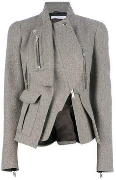 GIVENCHY PARIS Asymmetric Jacket
