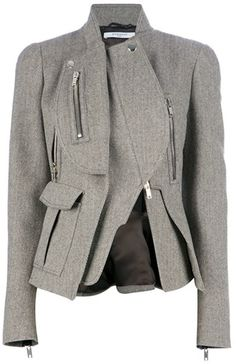 GIVENCHY PARIS Asymmetric Jacket...to die for!